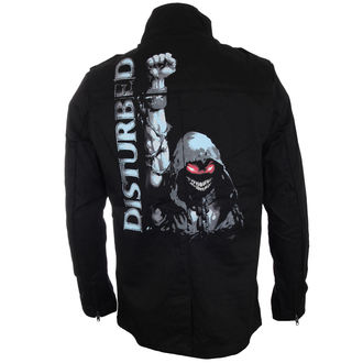 spring/fall jacket men's Disturbed - YER MILITARY - BRAVADO, BRAVADO, Disturbed