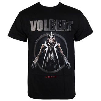 t-shirt metal men's Volbeat - RED KING-BLACK - BRAVADO, BRAVADO, Volbeat