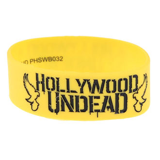 rubber bracelet Hollywood Undead - Mirror - Doves Yellow - PLASTIC HEAD, PLASTIC HEAD, Hollywood Undead