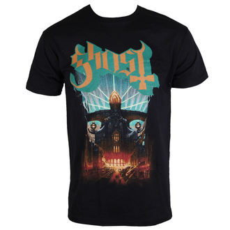t-shirt metal men's Ghost - Meliora - PLASTIC HEAD - PH10201