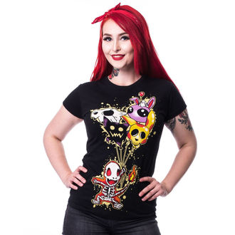 t-shirt women's - FLAME T - CUPCAKE CULT - POI177