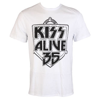 t-shirt metal men's Kiss - ALIVE 35 - AMPLIFIED, AMPLIFIED, Kiss