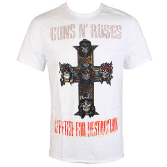 t-shirt metal men's Guns N' Roses - CLASSIC DIAMANTE - AMPLIFIED, AMPLIFIED, Guns N' Roses