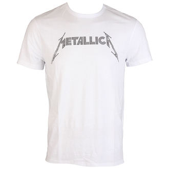 t-shirt metal men's Metallica - BLACK LOGO DIAMANTE - AMPLIFIED - AV210MLB