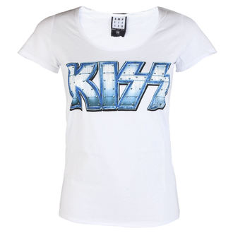 t-shirt metal women's Kiss - METAL DISTRESSED - AMPLIFIED, AMPLIFIED, Kiss