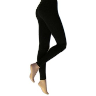pants women (leggings) LEGWEAR - everyday - black - SHLEEV2BL1