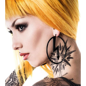 earring KILLSTAR x MARILYN MANSON - Number 7 - Black, KILLSTAR, Marilyn Manson