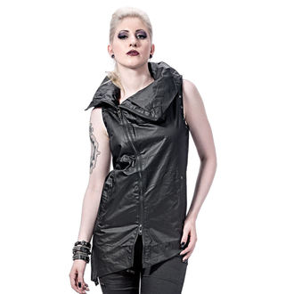 vest women's - Collar and Assymetric - QUEEN OF DARKNESS, QUEEN OF DARKNESS
