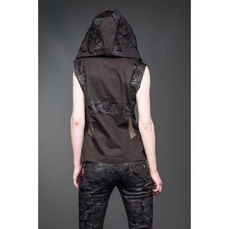 vest women's - Black - QUEEN OF DARKNESS, QUEEN OF DARKNESS