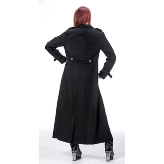 coat women's QUEEN OF DARKNESS - Double-Breasted - JA1-274/13