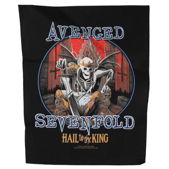 patch Avenged Sevenfold - HAIL TO THE KING - RAZAMATAZ, RAZAMATAZ, Avenged Sevenfold