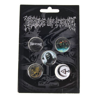 badges Cradle of Filth - HAMMER OF THE WITCHES - RAZAMATAZ, RAZAMATAZ, Cradle of Filth