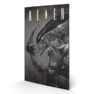 wooden image Alien - Head on Tail - Pyramid Posters - LW11414P