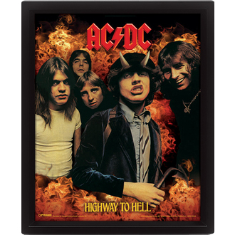 3D image AC / DC - Highway to Hell, PYRAMID POSTERS, AC-DC