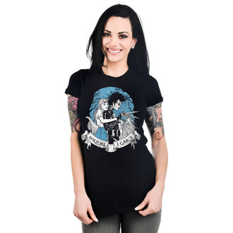 t-shirt gothic and punk women's - BABYDOLL - TOO FAST - TOO035