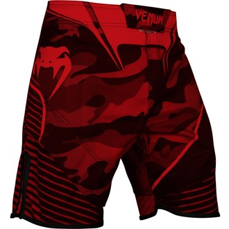 boxing shorts VENUM - Camo Hero - Red / Black, VENUM