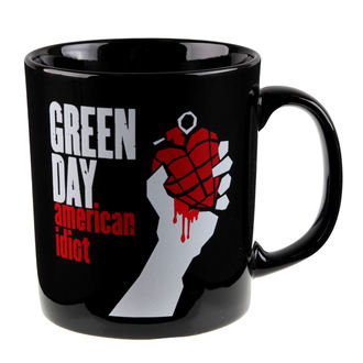 cup Green Day - American Idiot - ROCK OFF, ROCK OFF, Green Day