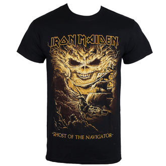 t-shirt metal men's Iron Maiden - Ghost of the Navigator - ROCK OFF, ROCK OFF, Iron Maiden