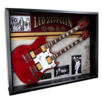 signed guitar Led Zeppelin - ANTIQUITIES CALIFORNIA, ANTIQUITIES CALIFORNIA, Led Zeppelin
