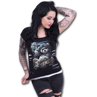 t-shirt women's - TED THE GRIM - SPIRAL - F033F710