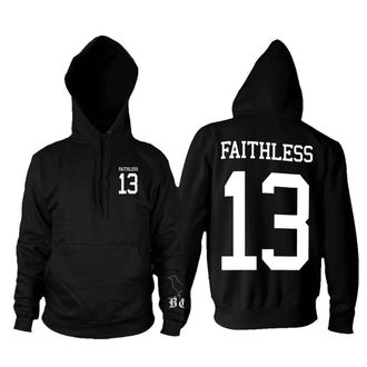 hoodie men's - Faithless 13 - BLACK CRAFT, BLACK CRAFT
