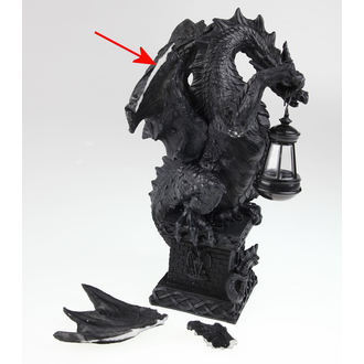 decoration Black Dragon Light, Nemesis now