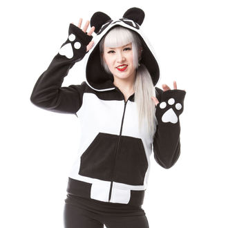 hoodie women's - KP SPLIT UP - KILLER PANDA - POI232