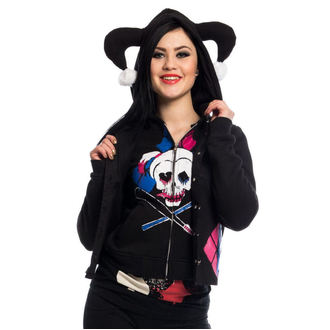 hoodie women's Suicide Squad - HARLEY REBEL - NNM - POI238