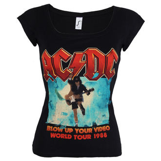 t-shirt metal women's AC-DC - Blow Up Your Video - ROCK OFF, ROCK OFF, AC-DC