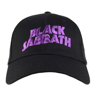Cap Black Sabbath - Logo & Devil - ROCK OFF, ROCK OFF, Black Sabbath