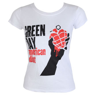 t-shirt metal women's Green Day - American Idiot - ROCK OFF, ROCK OFF, Green Day