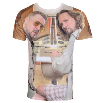 film t-shirt men's Big Lebowski - Allover - HYBRIS - UV-1-TBL011-SUB