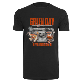 t-shirt metal men's Green Day - Radio -, Green Day