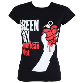 t-shirt metal women's Green Day - AMERICAN IDIOT - PLASTIC HEAD, PLASTIC HEAD, Green Day