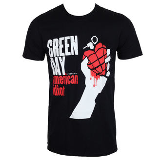 t-shirt metal men's Green Day - AMERICAN IDIOT - PLASTIC HEAD, PLASTIC HEAD, Green Day