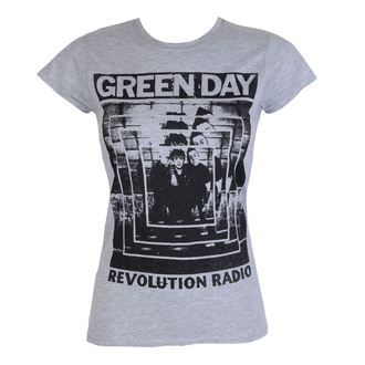 t-shirt metal women's Green Day - POWER SHOT - PLASTIC HEAD, PLASTIC HEAD, Green Day