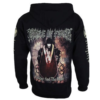 hoodie men's Cradle of Filth - CRUELTY AND THE BEAST - RAZAMATAZ, RAZAMATAZ, Cradle of Filth
