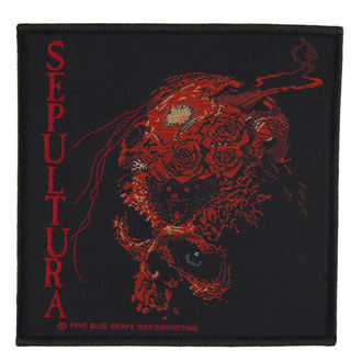 patch SEPULTURA - BENEATH THE REMAINS - RAZAMATAZ, RAZAMATAZ, Sepultura