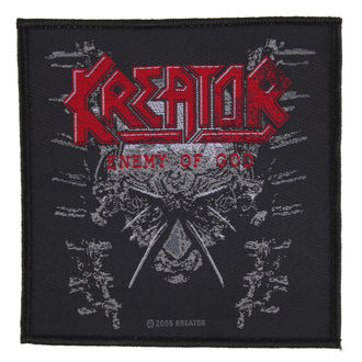 patch KREATOR - ENEMY OF GOD - RAZAMATAZ, RAZAMATAZ, Kreator