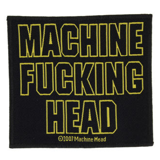 patch MACHINE HEAD - MACHINE FUCKING HEAD - RAZAMATAZ, RAZAMATAZ, Machine Head
