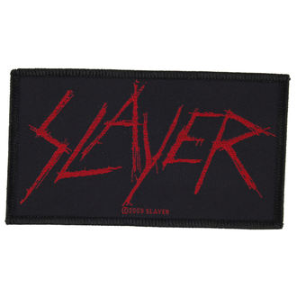 patch SLAYER - SCRATCHED LOGO - RAZAMATAZ, RAZAMATAZ, Slayer