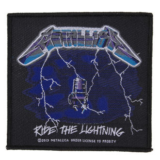 patch METALLICA - RIDE THE LIGHTNING - RAZAMATAZ - SP2724
