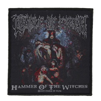patch CRADLE OF FILTH - HAMMER OF THE WITCHES - RAZAMATAZ, RAZAMATAZ, Cradle of Filth