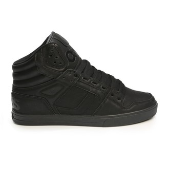 high sneakers women's unisex - Clone Black/Metal - OSIRIS, OSIRIS