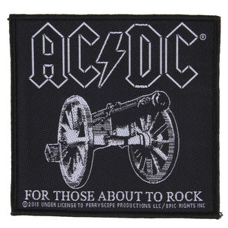 patch AC / DC - FOR THOSE ABOUT TO ROCK - RAZAMATAZ, RAZAMATAZ, AC-DC