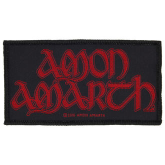 patch AMON AMARTH - RED LOGO - RAZAMATAZ - SP2854