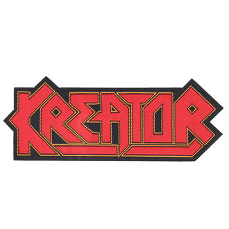Patch KREATOR - LOGO CUT-OUT - RAZAMATAZ, RAZAMATAZ, Kreator