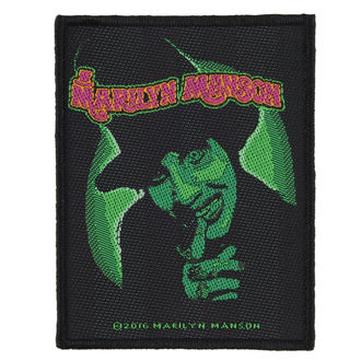 Patch MARILYN MANSON - SMELLS LIKE CHILDREN - RAZAMATAZ, RAZAMATAZ, Marilyn Manson