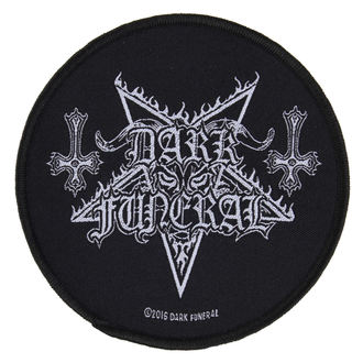 patch DARK FUNERAL - CIRCULAR LOGO - RAZAMATAZ - SP2886