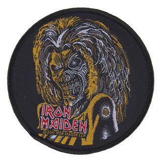 patch IRON MAIDEN - KILLERS FACE - RAZAMATAZ, RAZAMATAZ, Iron Maiden